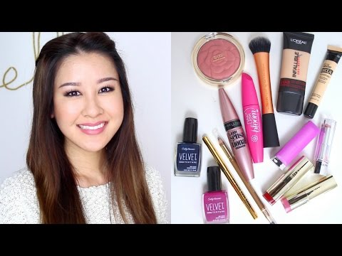 New at the Drugstore Makeup HAUL + quick reviews!