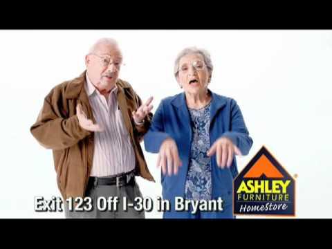 Ashley Tempurpedic Ergo Spot Fall 2011. Ashley Furniture Homestore in Bryant ...