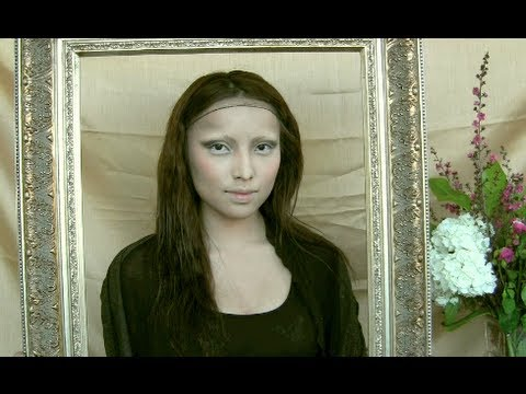 Mona Lisa Make-up Transformation