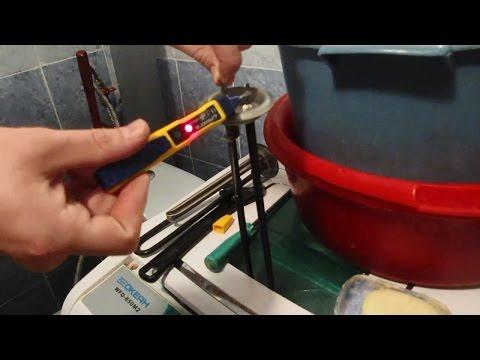 Как определить какой из тэнов водонагревателя пробит (сломан). Ремонт водонагревателя (титана)