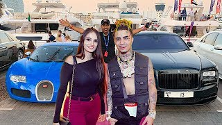 WE MET LIL PUMP IN DUBAI (GUCCI GANG)!!!