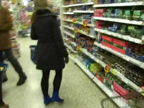 Budget shopping at Tesco Cosham