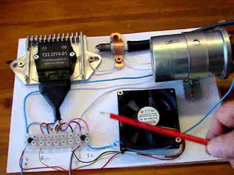 Простейший высоковольтный генератор