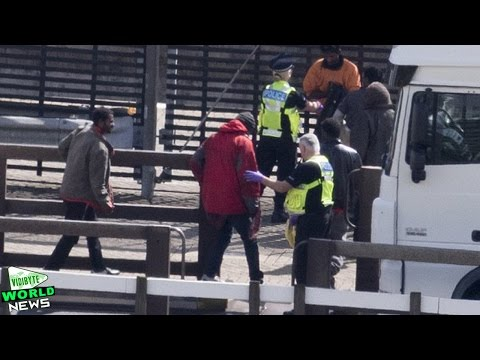Lorry Driver and 27 Suspected Illegal Immigrants Arrested at M25