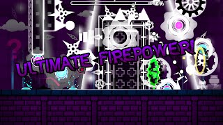 Geometry Dash | Ultimate Firepower! | 70 Demons!
