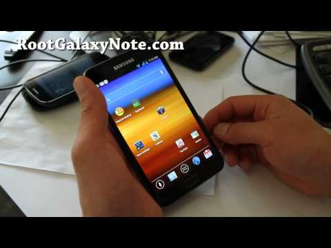 How To Install ICS ROM On Rooted Galaxy Note GT-N7000! | How To Make