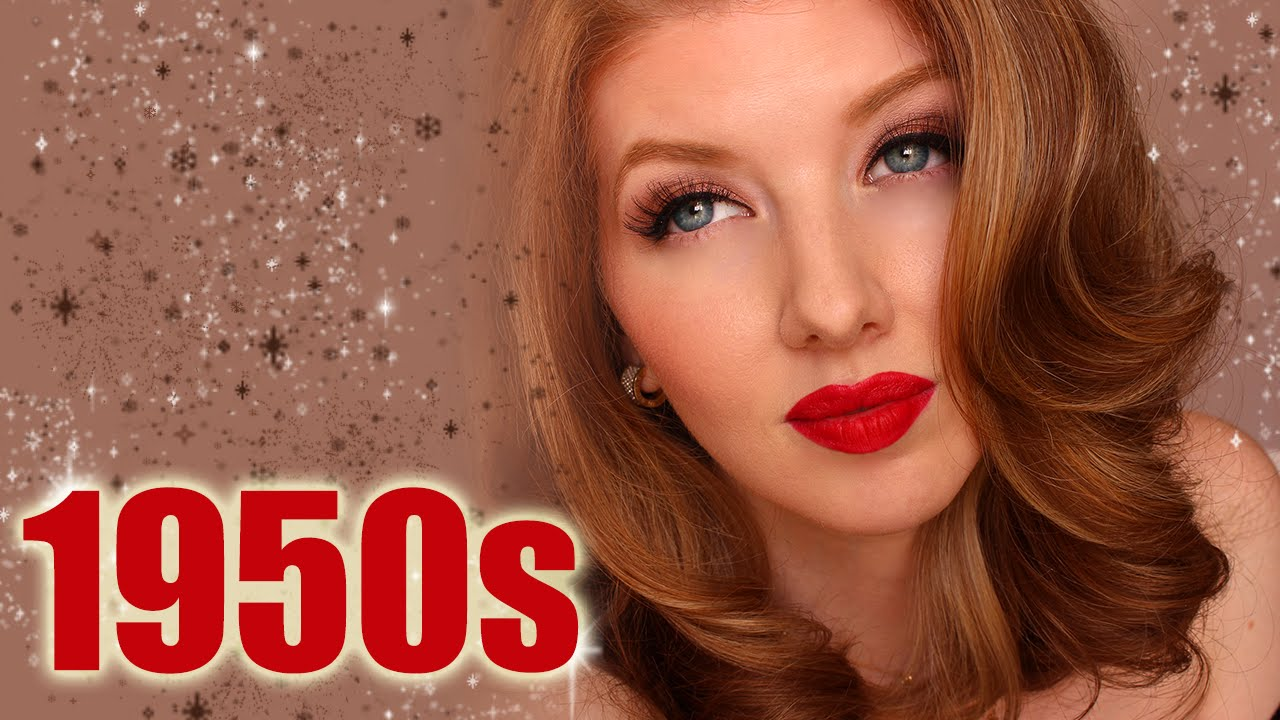 Historically Accurate: 1950s Makeup Tutorial - YouTube
