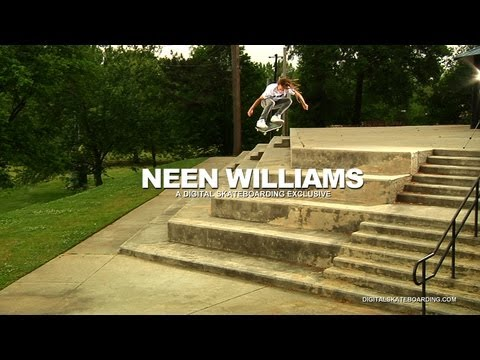 Neen Williams ATL 5 Blockin' - Digital Skateboarding