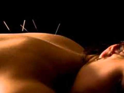 Soft spoken acupuncture role-play