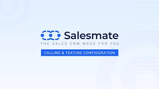 Set up VoIP phone system for your business with Salesmate CRM