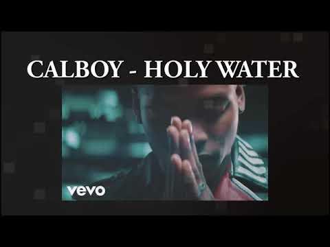 Calboy - Holy water (live session)   vevo Cartl.At.Home (lyrics)