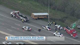 Dallas private school bus crash