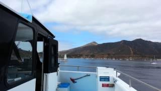 Arrival Two Harbors Catalina Isl