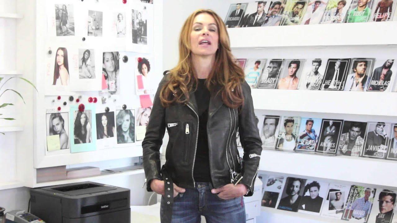examples of a fashion model portfolio presentation