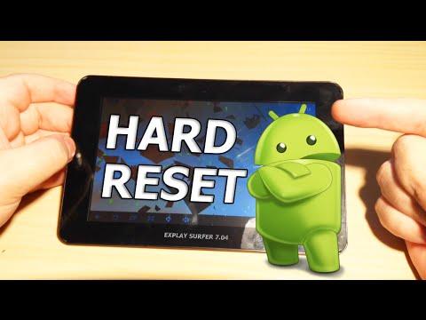 Как сделать хард ресет на планшете на андроид