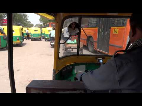 Traveling by Autorickshaw in New Delhi
