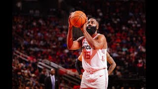 James Harden Shoots Lights Out From Deep: 60 PTS With 8 3-PT In 3 Quarters
