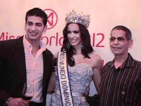 Coronacion Miss Mundo Dominicana 2012 Sally Aponte