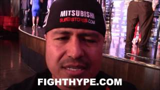 ROBERT GARCIA EXPLAINS WHY AMIR KHAN WILL GIVE CANELO ALVAREZ SOME TROUBLE