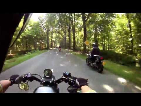 Father and son group ride (3/3) -  Harley Davidson Sportster Iron 883