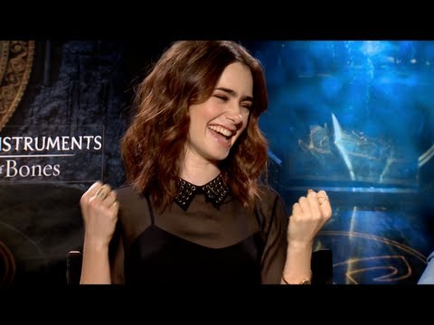 THE MORTAL INSTRUMENTS Interview: Lily Collins, Jamie Campbell Bower and Kevin Zegers