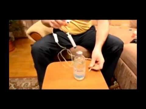 Как делать капельницу самому себе и перекись водорода
