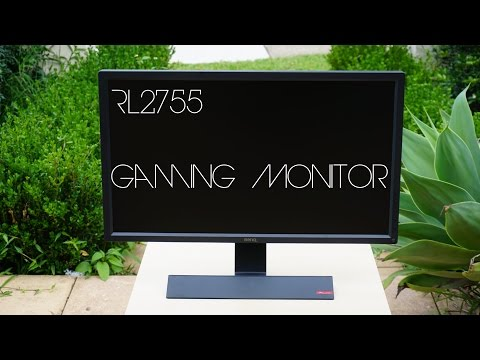 BenQ RL2755 Gaming Monitor Unboxing