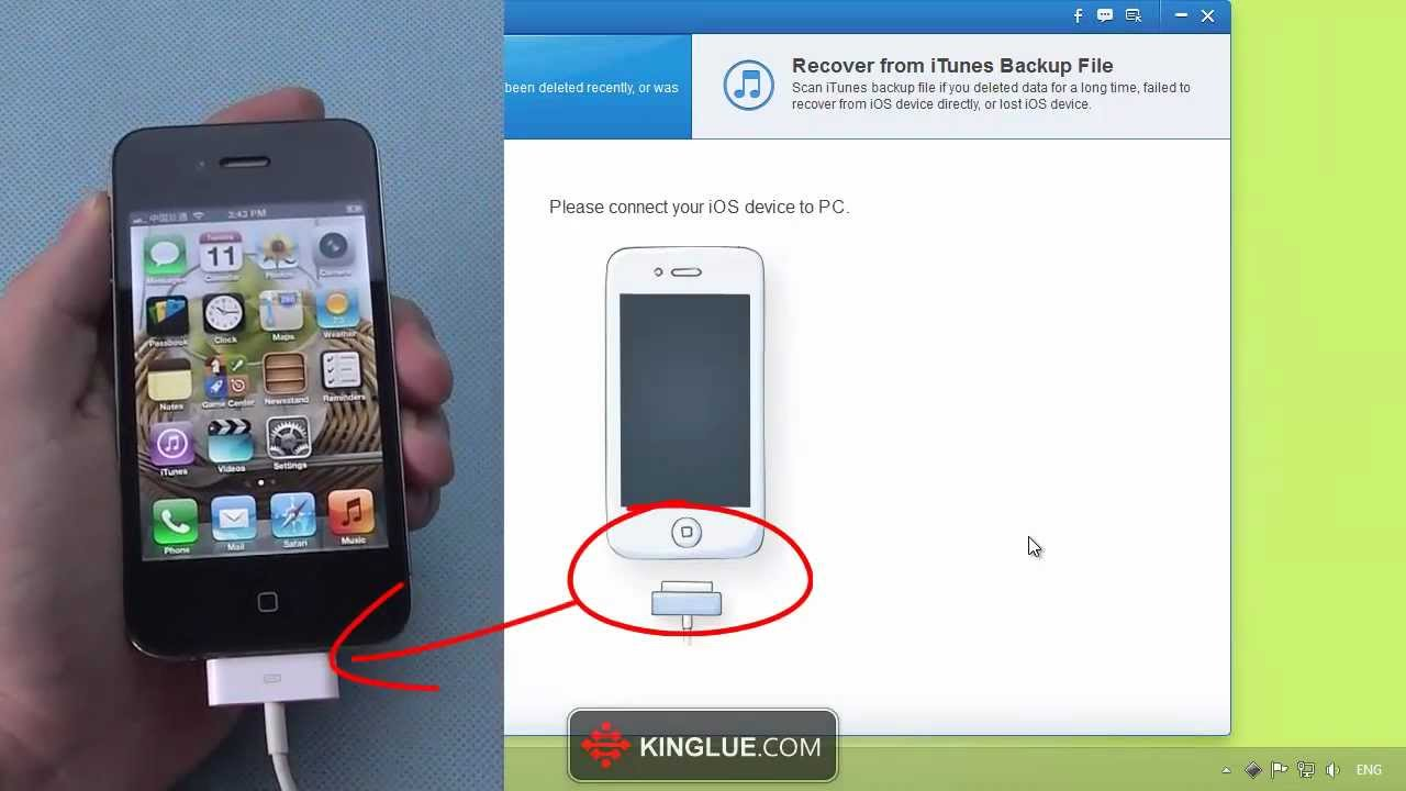 how to connect iphone 4s to pc without itunes
