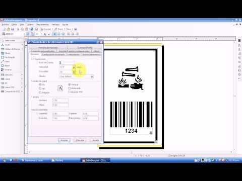 Impresión de Etiquetas de Nylon con Zebra Designer para Gk420t
