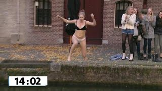 Schoenen in de gracht gooien - WIE IS DE SJAAK?