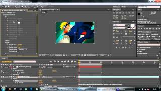 AMV TUTS Adobe After Effects : Week 8 ( ANIME RGB TWITCH SLIDE )