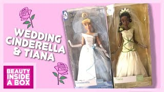Wedding Tiana & Cinderella - Doll Review - Beauty Inside A Box