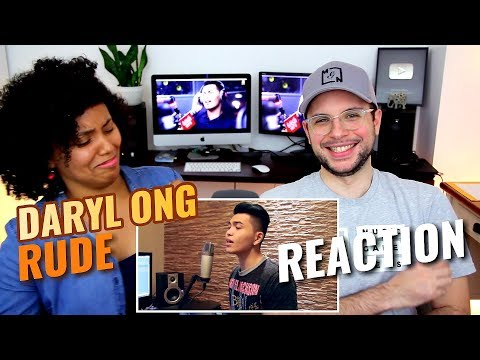 Daryl Ong - Rude | Magic! | REACTION