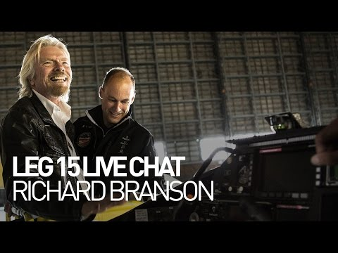 LEG 15 LIVE CHAT: Solar Impulse Airplane - Richard Branson