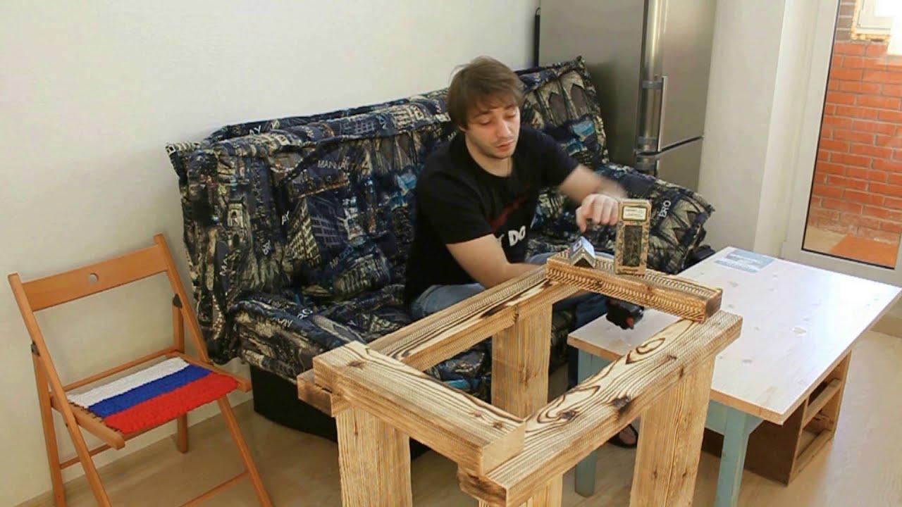 Изготовление из дерева столов своими руками 759