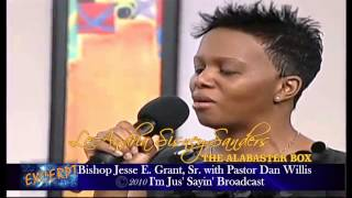 LeAndria Sisney-Sanders with Bishop Jesse E. Grant, Sr. and Pastor Dan Willis on I