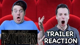 Black Panther - Official Trailer - Reaction