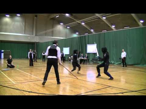 Helsinki Longsword Open 2016 - Women's Longsword final