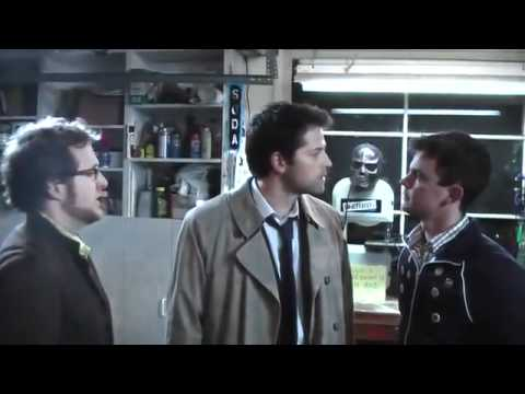 Supernatural  - The Ghostfacers meet Castiel