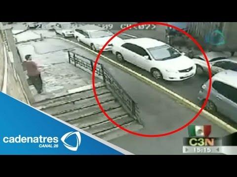 Impresionantes imágenes de un accidente en Rusia / Accidentes automovilísticos