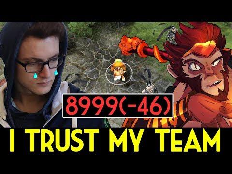 Miracle- Dota 2 [Monkey King] i trust my team (-46 MMR)