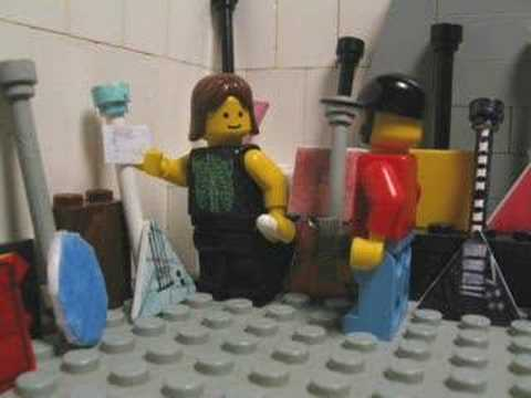 Lego Spinal Tap Nigel S Guitar Room Youtube