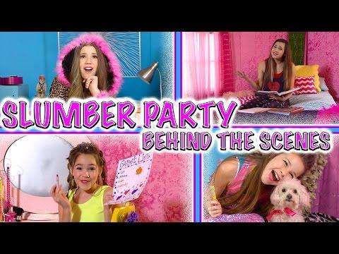 Haschak Sisters - Slumber Party (Behind the Scenes)