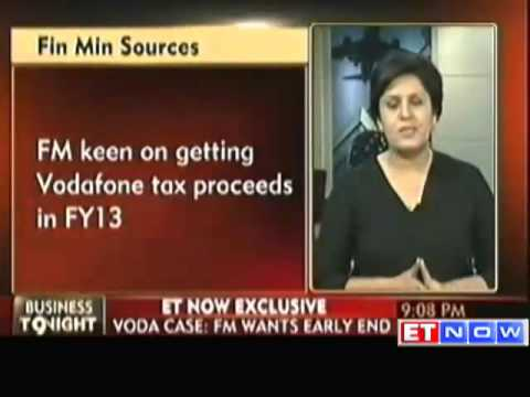 FM wants resolution of Vodafone tax dispute