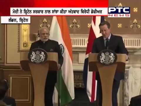 PM Modi hands over terror dossier to UK government
