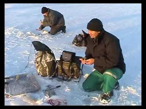 ловля корюшки на имандре видео