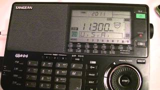 11300 kHz - Air Traffic Control communications over Africa received in hut Gotze Delchev, Bulgaria