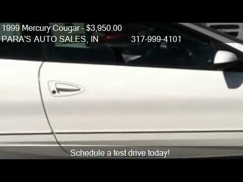1999 Mercury Cougar V6 for sale in Brownsburg, IN 46112 at P