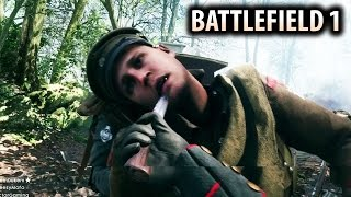 BATTLEFIELD 1 - Knife ONLY Match in The Argonne Forest! Multiplayer Gameplay
