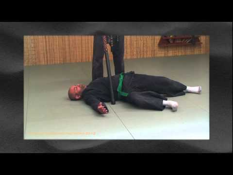 Ninjutsu Training Drill: Deflecting Attacks - Tai Sabaki Image 1